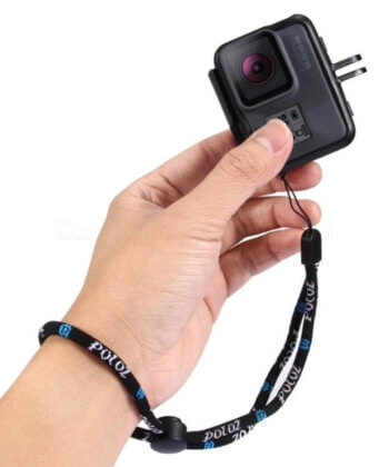 dây đeo tay puluz 23cm cho dji osmo action, gopro action camera